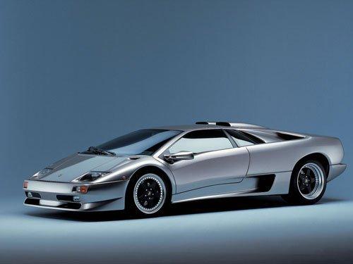 "Lamborghini Diablo Car Poster Print on 10 mil Archival Satin Paper 16"" x 12"""
