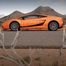 "Lamborghini Gallardo Superleggera Car Poster Print on 10 mil Archival Satin Paper 16"" x 12"""