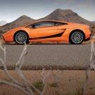 "Lamborghini Gallardo Superleggera Car Poster Print on 10 mil Archival Satin Paper 16"" x 12"""
