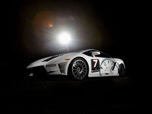 "Lamborghini Gallardo LP560-4 Super Trofeo Car Poster Print on 10 mil Archival Satin Paper 16"" x 12"""
