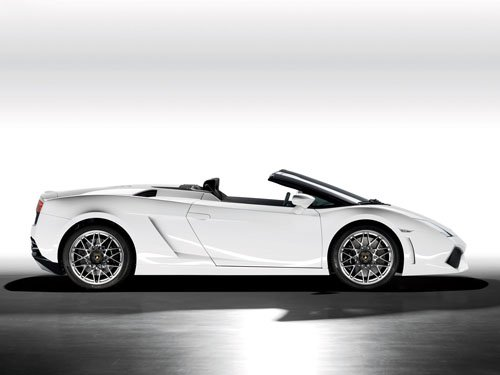 "Lamborghini Gallardo LP560-4 Spyder Car Poster Print on 10 mil Archival Satin Paper 16"" x 12"""