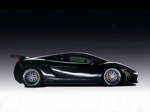 "Reiter Lamborghini Gallardo GT3 Strada Car Poster Print on 10 mil Archival Satin Paper 16"" x 12"""
