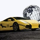 "Lamborghini Gallardo Cool Victory Global Car Poster Print on 10 mil Archival Satin Paper 16"" x 12"""