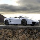 "Lamborghini Gallardo LP560-4 Spyder Car Poster Print on 10 mil Archival Satin Paper 20"" x 15"""