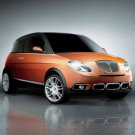 "Lancia Ypsilon Sport Car Poster Print on 10 mil Archival Satin Paper 16"" x 12"""