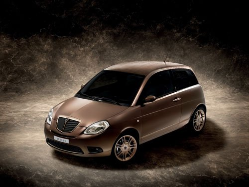 "Lancia Ypsilon Versus Car Poster Print on 10 mil Archival Satin Paper 16"" x 12"""