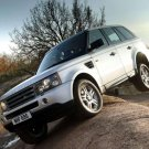 "Land Rover Range Rover Sport Car Poster Print on 10 mil Archival Satin Paper 16"" x 12"""