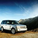 "Land Rover Supercharged Range Rover Car Poster Print on 10 mil Archival Satin Paper 16"" x 12"""
