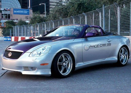"Lexus SC430 Pace Car Poster Print on 10 mil Archival Satin Paper 16"" x 12"""