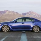 "Lexus IS-F Car Poster Print on 10 mil Archival Satin Paper 16"" x 12"""