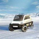 "Magna Steyr Mila Alpine Car Poster Print on 10 mil Archival Satin Paper 20"" x 15"""