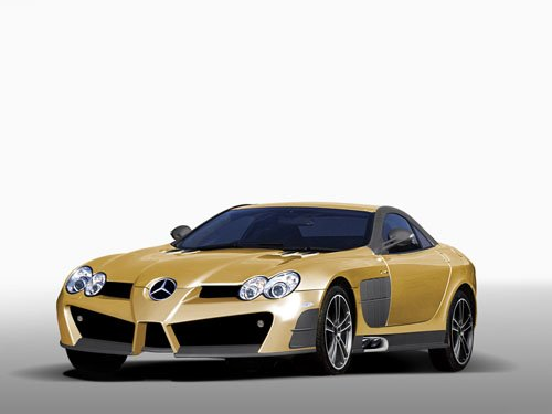 "Mansory SLR Renovatio Car Poster Print on 10 mil Archival Satin Paper 16"" x 12"""