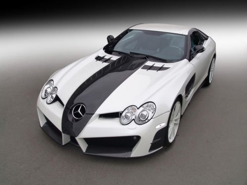 "Mansory Mercedes-Benz McLaren SLR Renovatio Car Poster Print on 10 mil Archival Satin Paper 16""x12"""