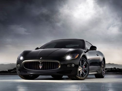 "Maserati Gran Turismo S Car Poster Print on 10 mil Archival Satin Paper 16"" x 12"""