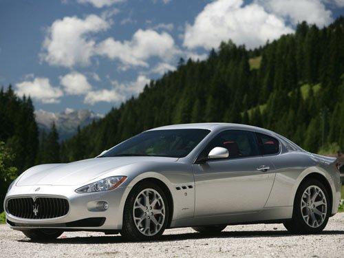 "Maserati Gran Turismo Car Poster Print on 10 mil Archival Satin Paper 16"" x 12"""