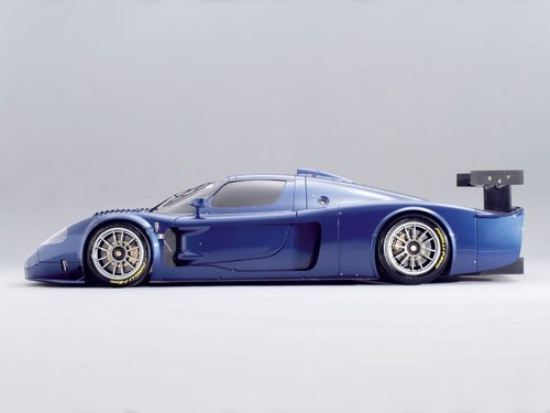 "Maserati MC-12 Corsa Race Car Poster Print on 10 mil Archival Satin Paper 16"" x 12"""