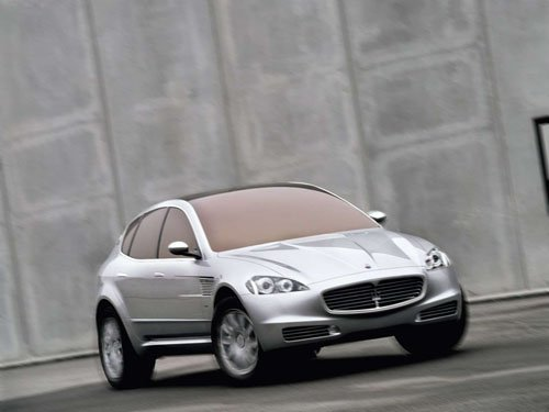 "Maserati Kubang Car Poster Print on 10 mil Archival Satin Paper 16"" x 12"""