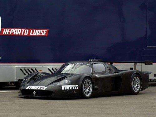 "Maserati MCC Prototype Car Poster Print on 10 mil Archival Satin Paper 16"" x 12"""