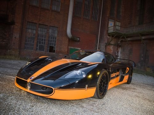 "Maserati Edo Competition MC12 XX Car Poster Print on 10 mil Archival Satin Paper 16"" x 12"""