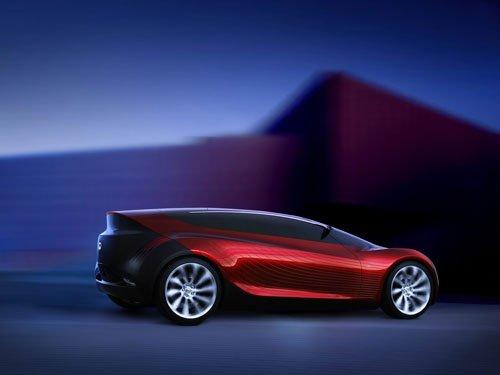 """Mazda Ryuga Concept Car Poster Print on 10 mil Archival Satin Paper 16"""" x 12"""""""