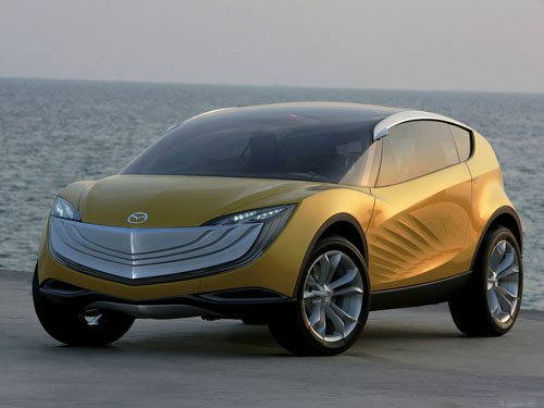 """Mazda Hakaze Concept Car Poster Print on 10 mil Archival Satin Paper 16"""" x 12"""""""