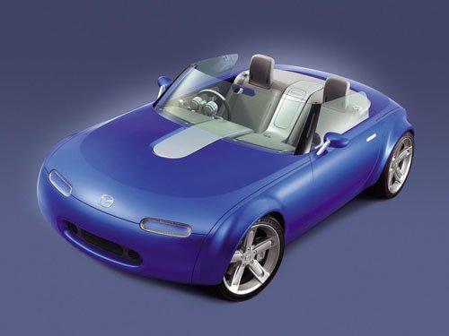 """Mazda Ibuki Concept Car Poster Print on 10 mil Archival Satin Paper 16"""" x 12"""""""