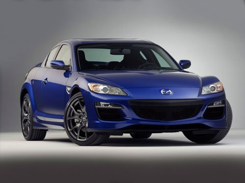 "Mazda RX-8 Car Poster Print on 10 mil Archival Satin Paper 16"" x 12"""