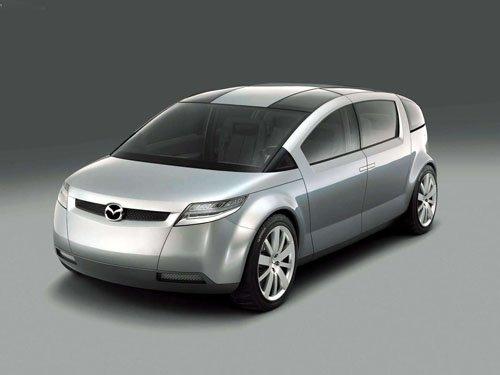 "Mazda Washu Concept Car Poster Print on 10 mil Archival Satin Paper 16"" x 12"""