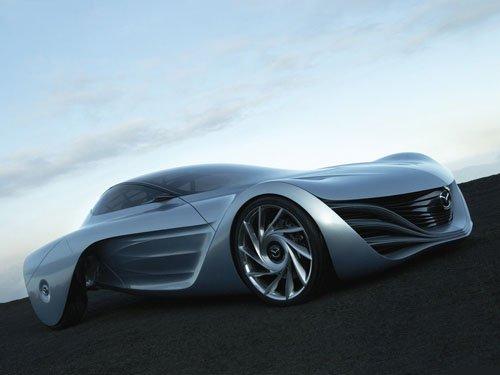 """Mazda Taiki Concept Car Poster Print on 10 mil Archival Satin Paper 16"""" x 12"""""""