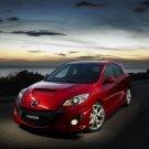 "Mazda 3 MPS Concept Car Poster Print on 10 mil Archival Satin Paper 16"" x 12"""