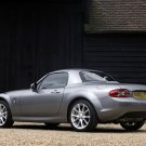 "Mazda MX5 Miyako Roadster Coupe 2011 Car Poster Print on 10 mil Archival Satin Paper 16"" x 12"""