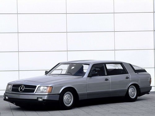 "Mercedes-Benz Auto 2000 Concept Car Poster Print on 10 mil Archival Satin Paper 16"" x 12"""