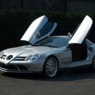 "Mercedes-Benz Project Kahn McLaren SLR Car Poster Print on 10 mil Archival Satin Paper 16"" x 12"""
