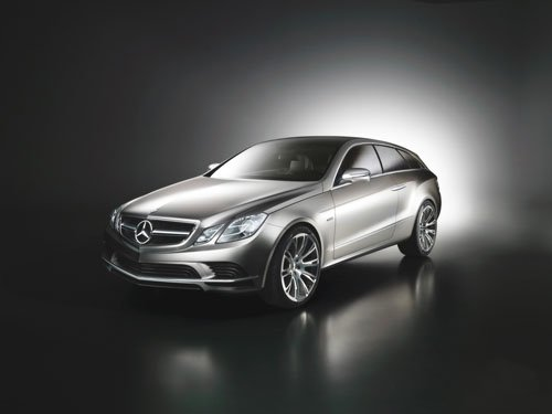 "Mercedes-Benz Fascination Concept Car Poster Print on 10 mil Archival Satin Paper 16"" x 12"""