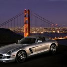 "Mercedes SLS AMG U.S. Version (2011) Car Poster Print on 10 mil Archival Satin Paper 16"" x 12"""