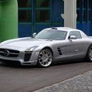 "Mercedes-Benz Fab Design SLS AMG Concept Car Poster Print on 10 mil Archival Satin Paper 20"" x 15"""