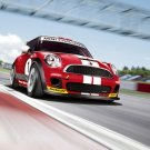 "Mini Cooper Challenge John Cooper Works Car Poster Print on 10 mil Archival Satin Paper 20"" x 15"""
