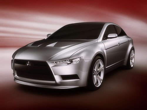 "Mitsubishi Sportback Concept Car Poster Print on 10 mil Archival Satin Paper 16"" x 12"""