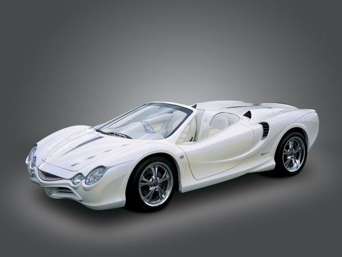 "Mitsuoka Orochi Nude Top Concept Car Poster Print on 10 mil Archival Satin Paper 16"" x 12"""
