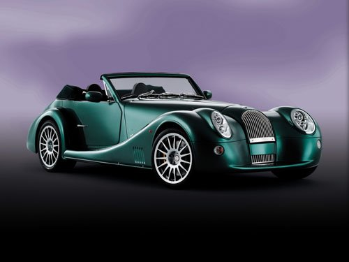 "Morgan Aero 8 Car Poster Print on 10 mil Archival Satin Paper 16"" x 12"""