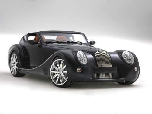 "Morgan Aero SuperSports Car Poster Print on 10 mil Archival Satin Paper 16"" x 12"""