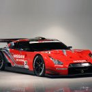 "Nissan GT-R GT500 Race Car Poster Print on 10 mil Archival Satin Paper 16"" x 12"""