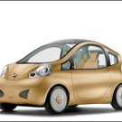 """Nissan Nuva Concept Car Poster Print on 10 mil Archival Satin Paper 16"""" x 12"""""""