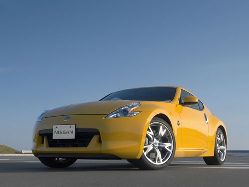 "Nissan 370Z Coupe Car Poster Print on 10 mil Archival Satin Paper 16"" x 12"""