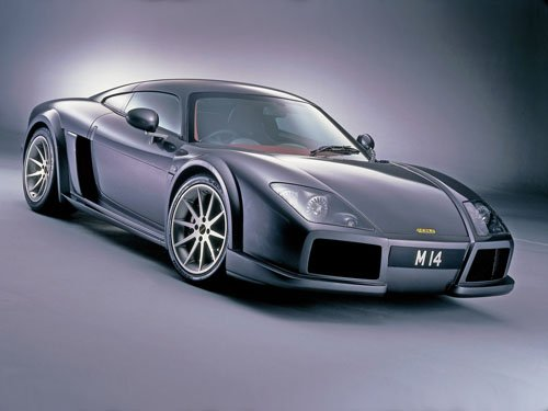 "Noble M14 Car Poster Print on 10 mil Archival Satin Paper 16"" x 12"""