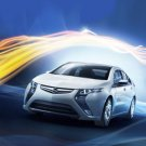 "Opel Ampera Concept Car Poster Print on 10 mil Archival Satin Paper 16"" x 12"""
