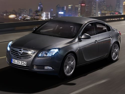 "Opel Insignia Hatchback Car Poster Print on 10 mil Archival Satin Paper 16"" x 12"""