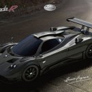 "Pagani Zonda R Car Poster Print on 10 mil Archival Satin Paper 16"" x 12"""