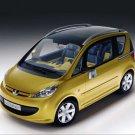 "Peugeot Sesame Concept Car Poster Print on 10 mil Archival Satin Paper 16"" x 12"""