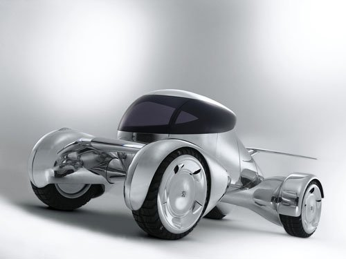 """Peugeot Moonster Concept Car Poster Print on 10 mil Archival Satin Paper 16"""" x 12"""""""